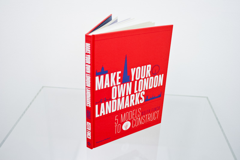 Make Your Own London Landmarks Blue Red Press